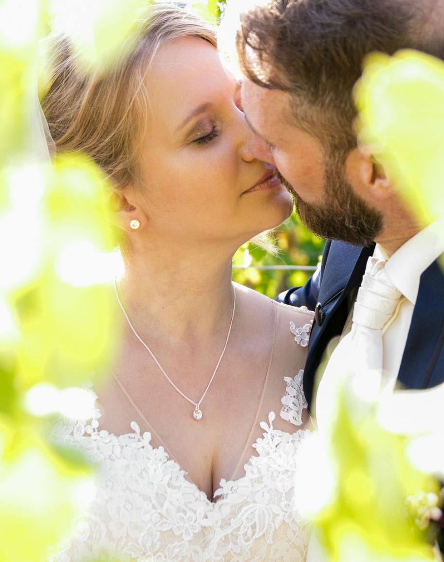 Hochzeitsfotograf Hauenstein Brautpaar Weinberg