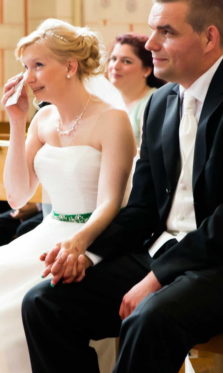 Heiraten in Hauenstein Braut Kirche Pfalz