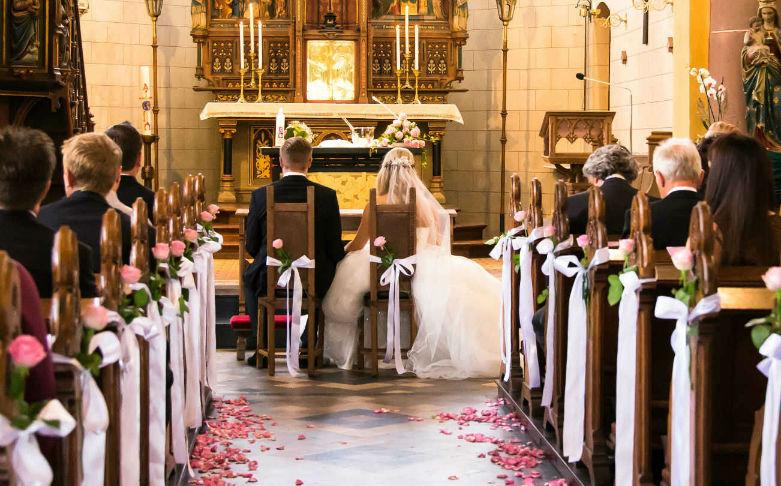 Hochzeitsfotograf Kaiserslautern Brautpaar Kirche Pfalz