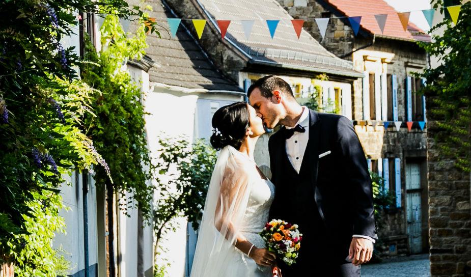 Heiraten in Forst Brautpaar Weinstraße Pfalz