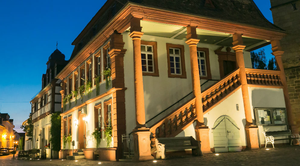 Heiraten in Freinsheim Standesamt Altes Rathaus Aussenansicht