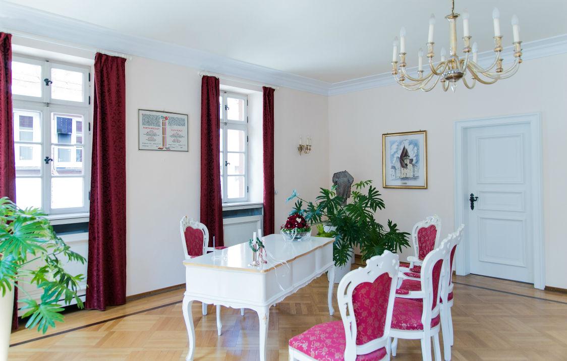 Heiraten in Freinsheim Standesamt Altes Rathaus Innenansicht