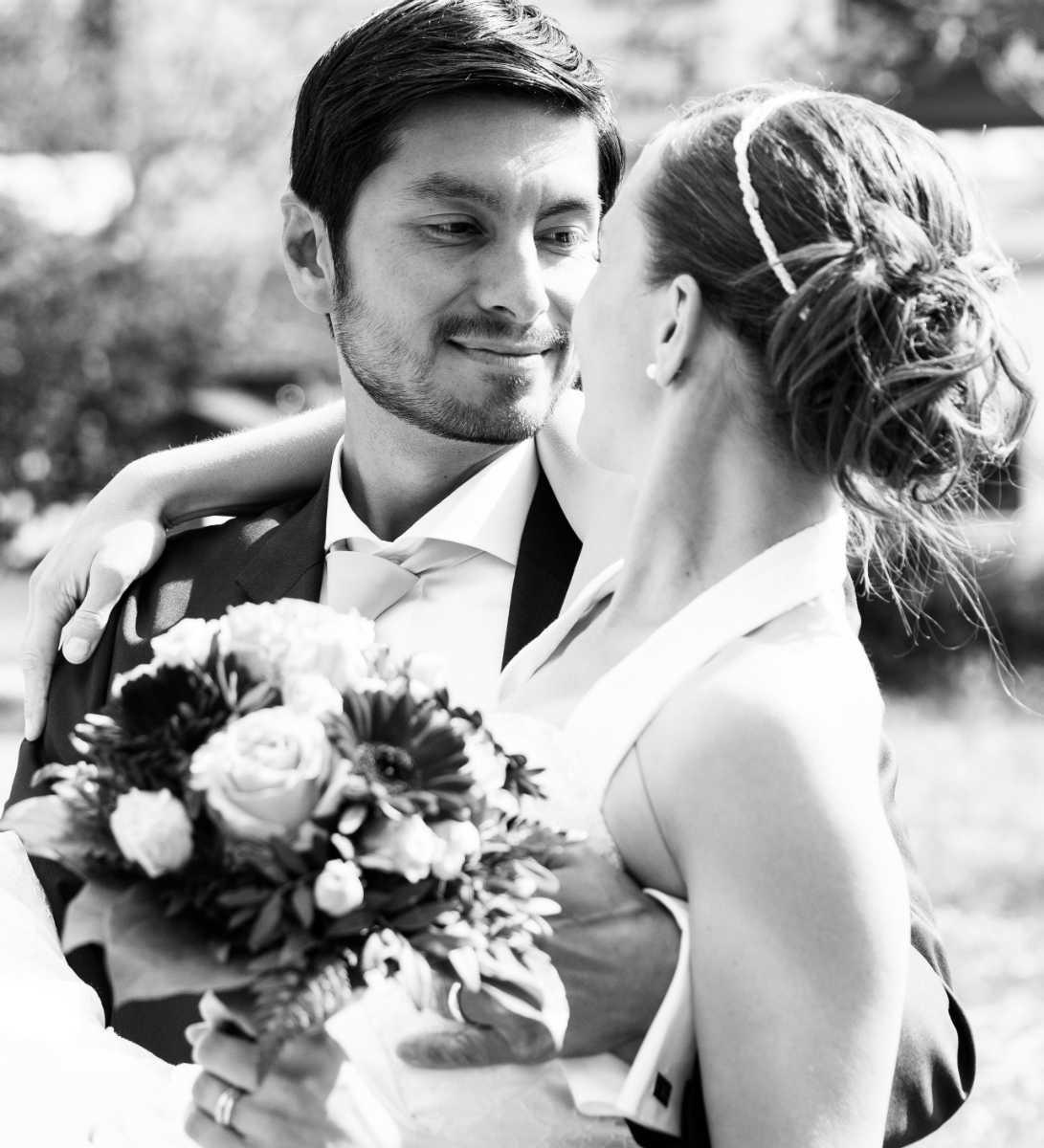 Heiraten in Mußbach Brautpaar