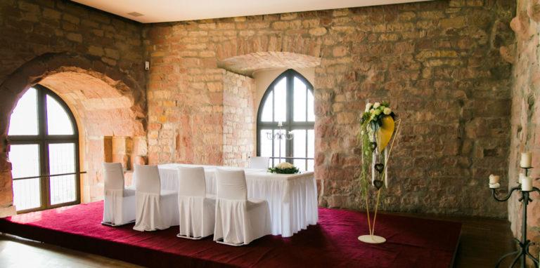 Heiraten in Neustadt Trauort Hambacher Schloss