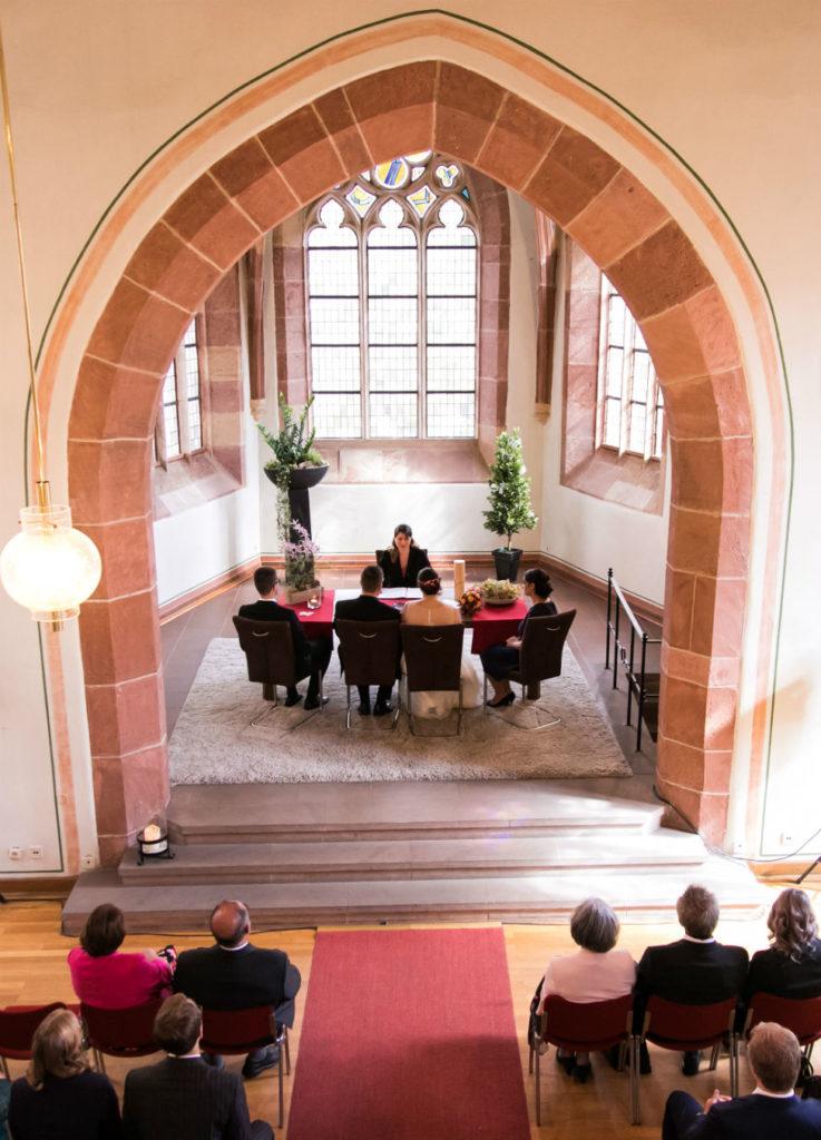 Heiraten in Wachenheim Trauung Ludwigskapelle