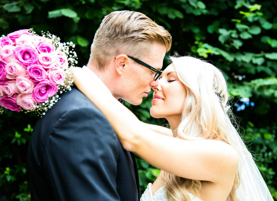 Heiraten in Kallstadt Brautpaar
