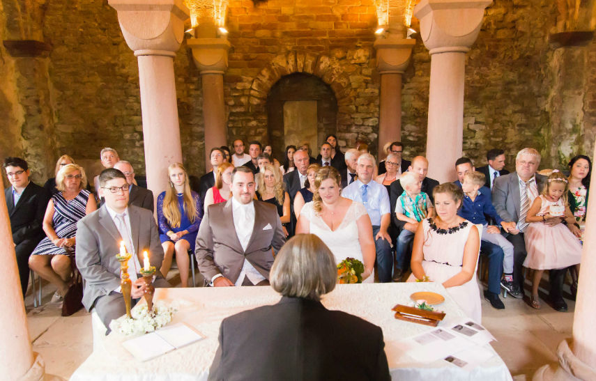 Heiraten Burg Pfalz Limburg Krypta