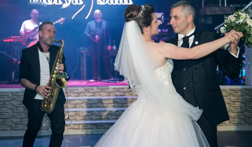 Brautpaartanz Saxophon Pfalz