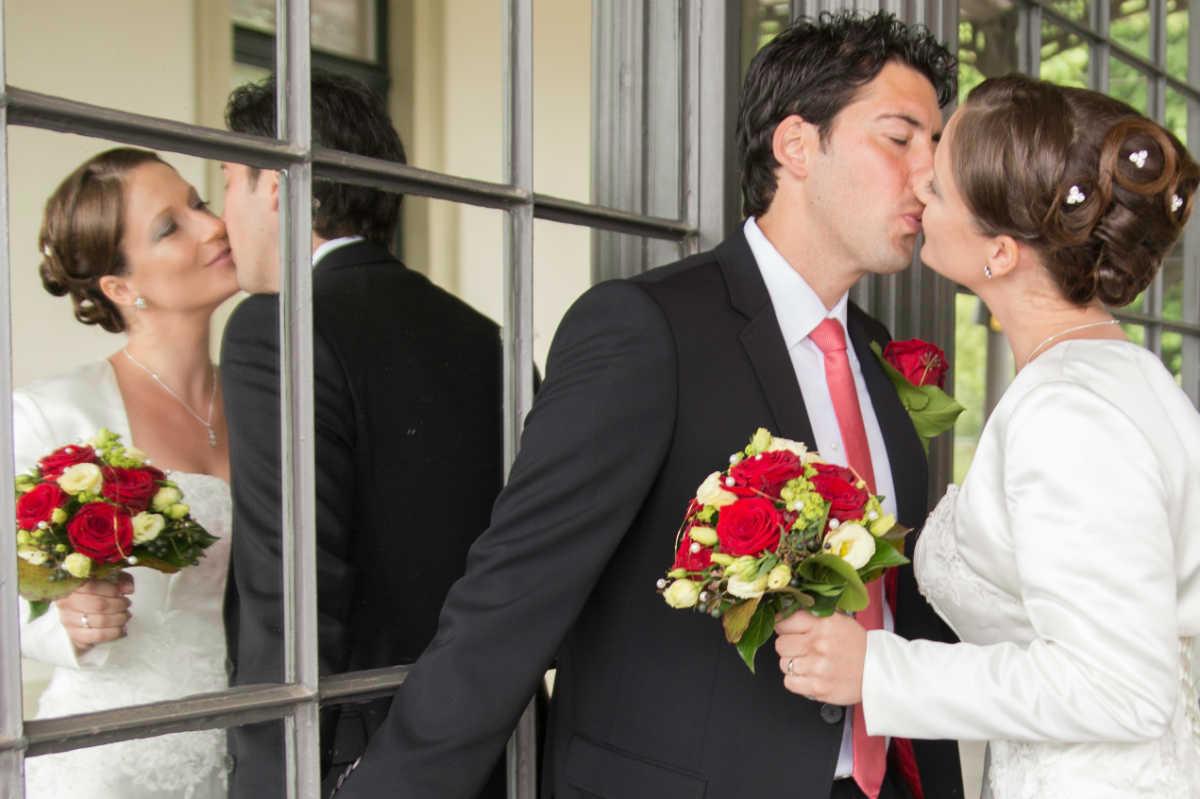 Hochzeitsfotograf Ruppertsberg Brautpaar Pfalz