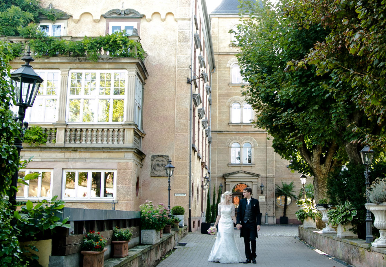 Hochzeit Schloss Pfalz Brautpaar