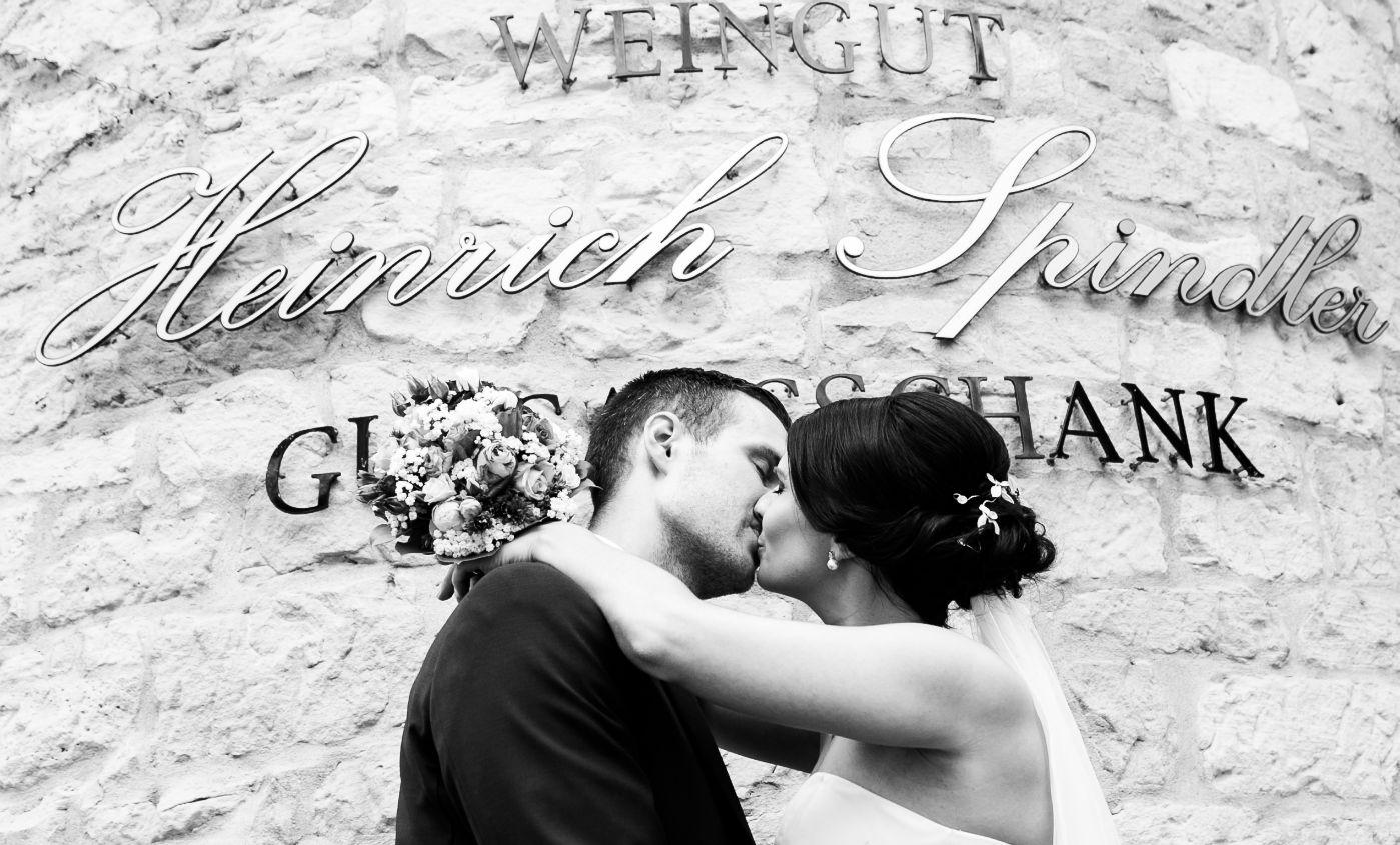 Heiraten in Forst Brautpaar Weingut Pfalz