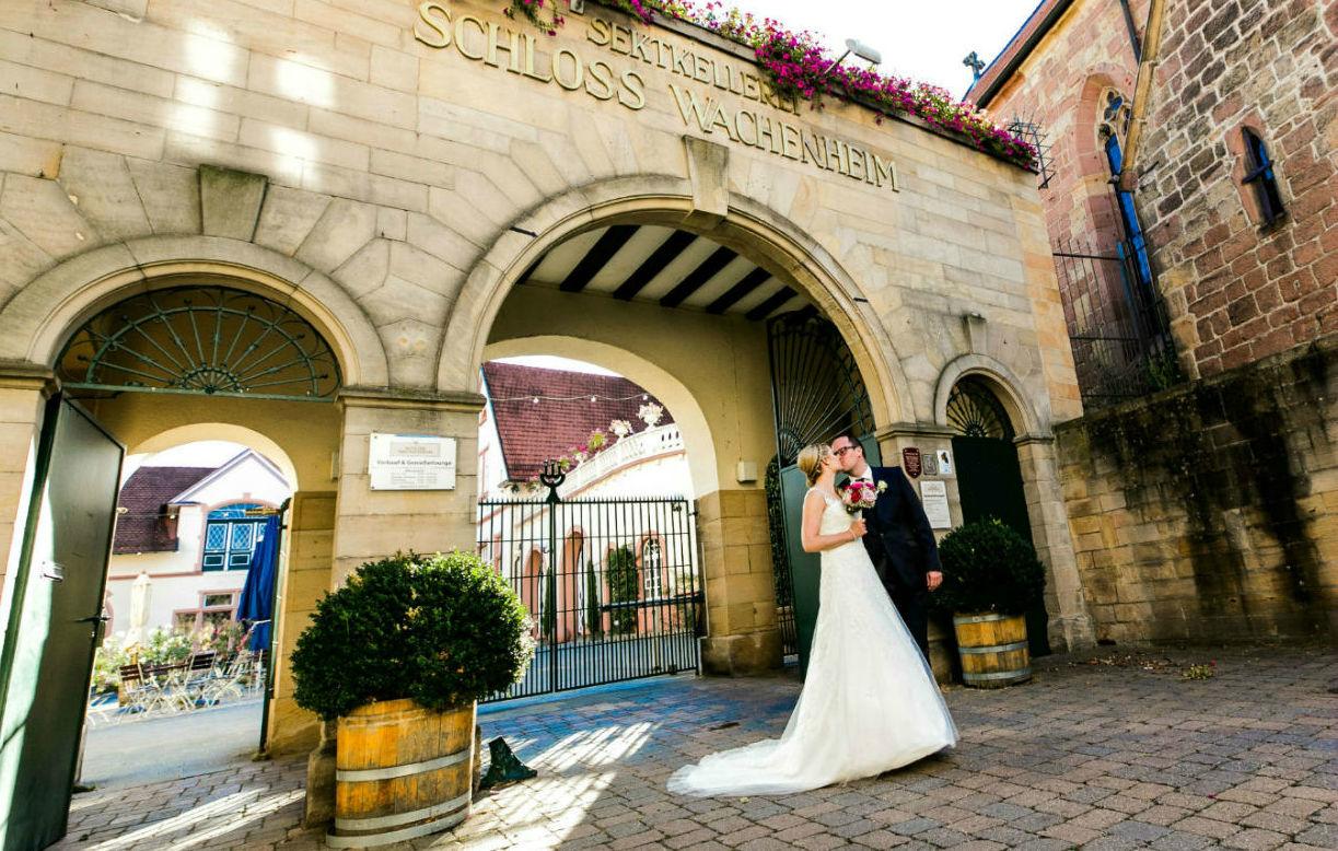 Heiraten Schloss Pfalz Brautpaar